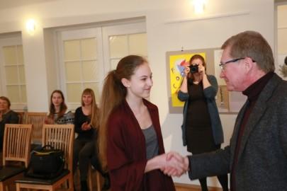 Wiklandi noore kunstniku preemia (15). Tarmula