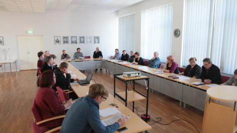 Haapsalu ja Ridala ühinemisläbirääkimised Foto Arvo Tarmula