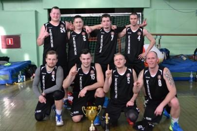 Virtsu korvpallimeeskond.