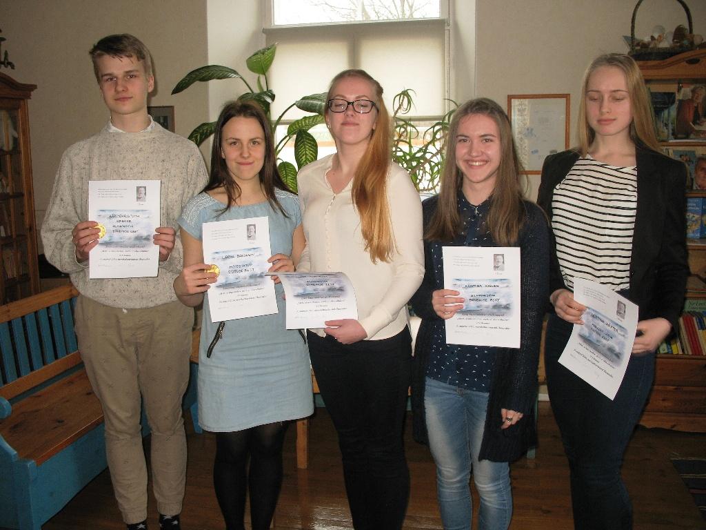 Ernst Enno nimeline õpilaste etluskonkurss_10.-12.kl