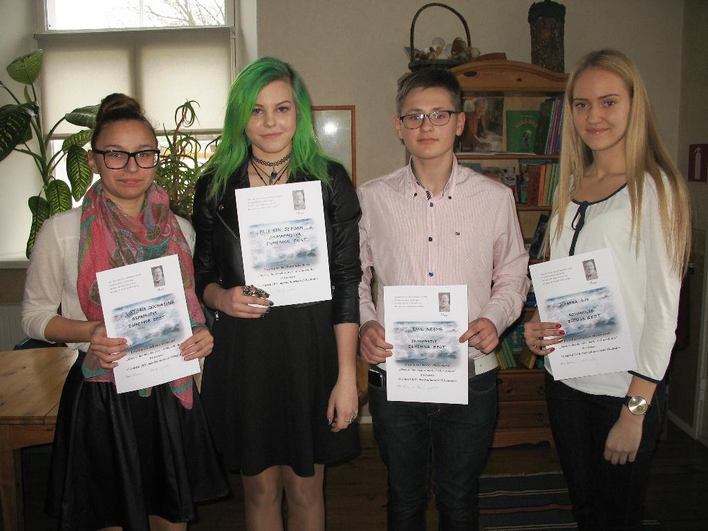 Ernst Enno nimeline õpilaste etluskonkurss_7.-9.kl