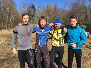 Valge Laev võitjad Tallinna maleva Põhja kompanii võistkond Foto: Alo Aasma FB konto