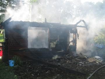 lõkkest põlengLäänemaal