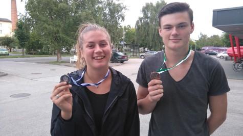 Meie medalivõitjad Madli Rahuvarm ja Kevin Sakson (jaanus getreu)