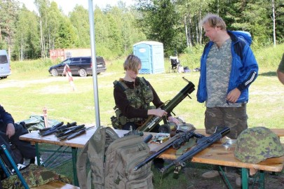 Militaarlaager3. Evely Kaibald