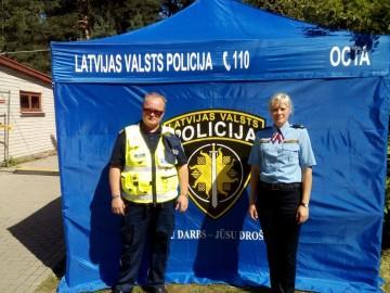 Politseinikud Lätis Positivusel1