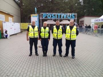 Politseinikud Lätis Positivusel2