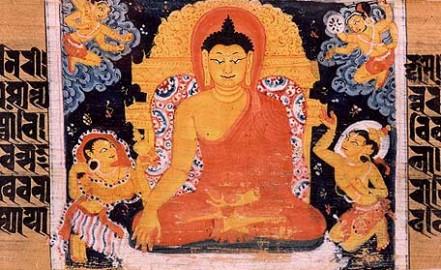 Astasahasrika_Prajnaparamita_Victory_Over_Mara