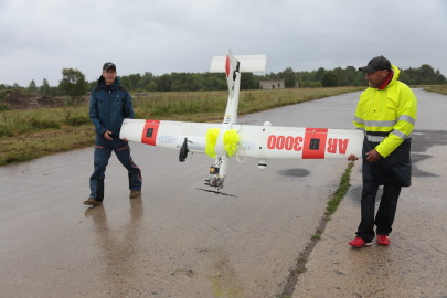 Hanko droon maandus Kiltsi lennuväljal Arvo Tarmula19
