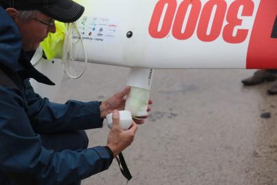 Hanko droon maandus Kiltsi lennuväljal Arvo Tarmula25