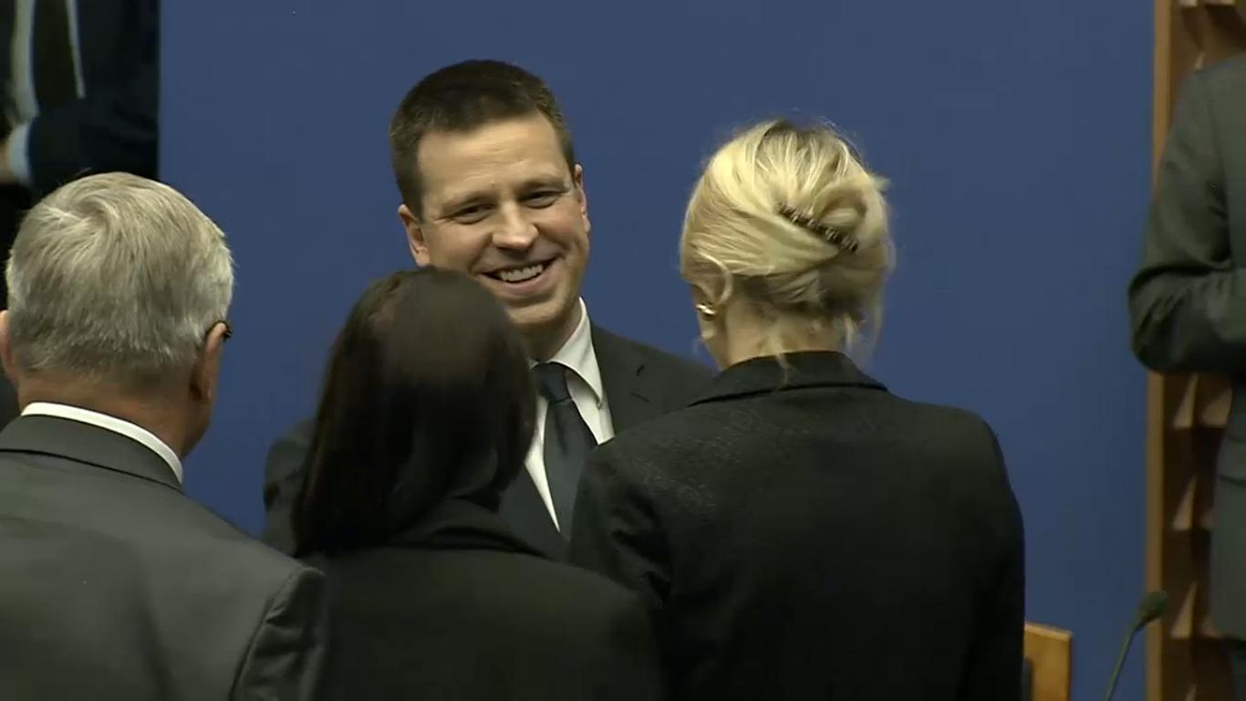 Jüri Ratas peaminister