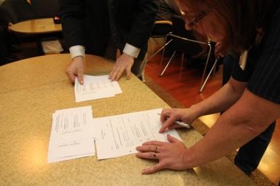 Kullamaa vilikogu läbirääkimishääletus 106
