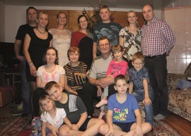 Smittide pere, jõulud 2015 (erakogu)