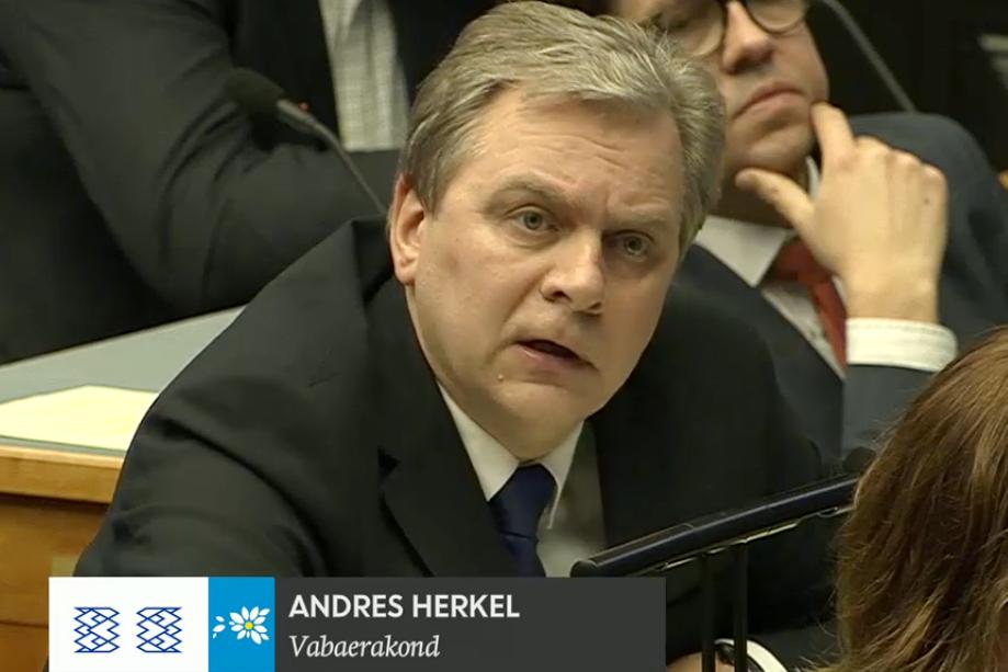 Andres Herkel 2016-11-21