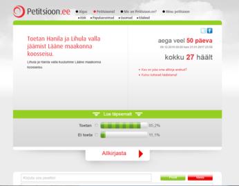 Petitsioon