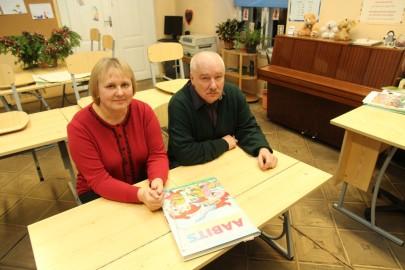 Vatla kooli sulgemise koosolek 188 (72) Helju Viikmann ja Arno Peksar