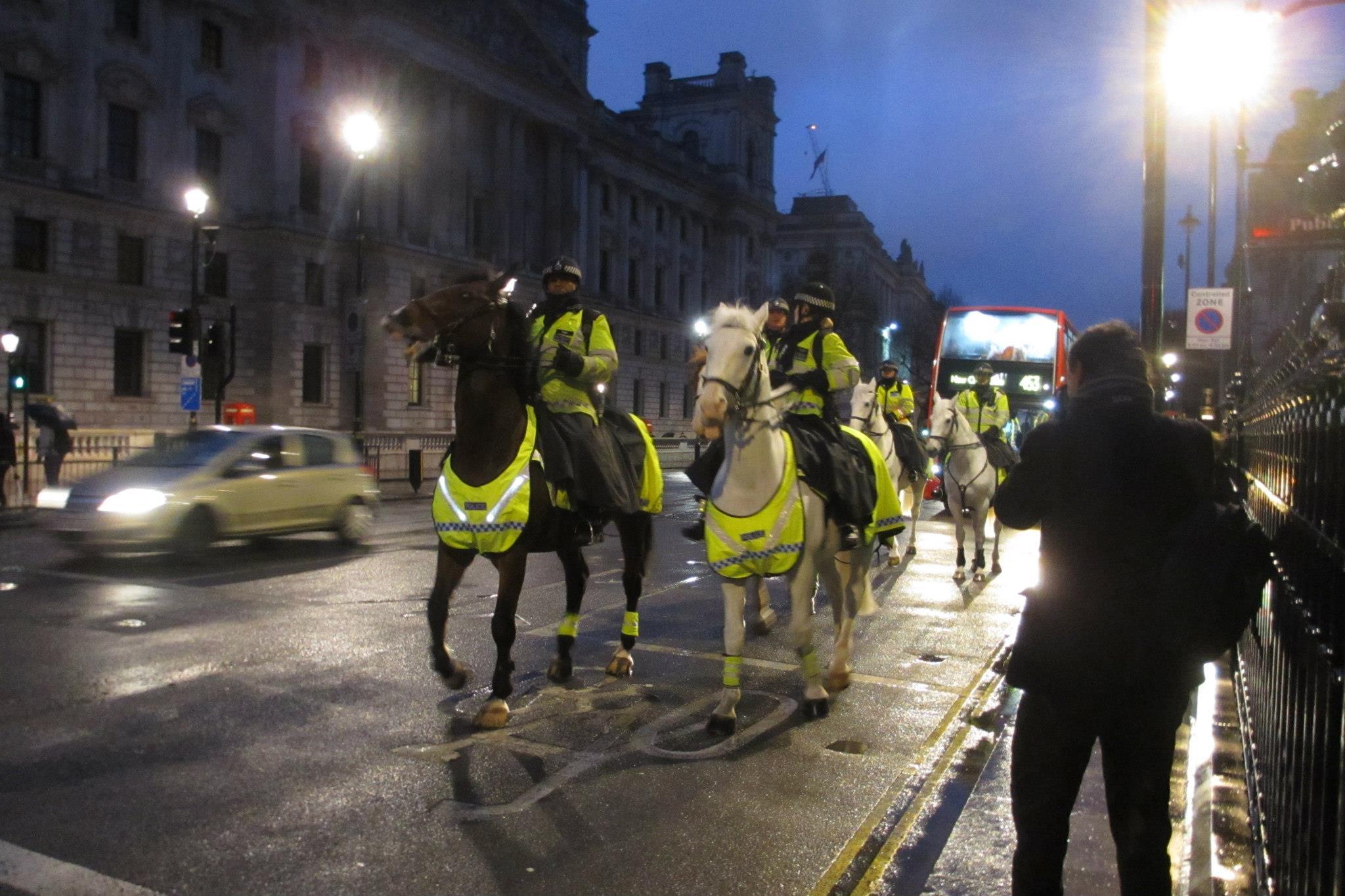 Ratsapolitseinikud Londonis (urmas lauri)