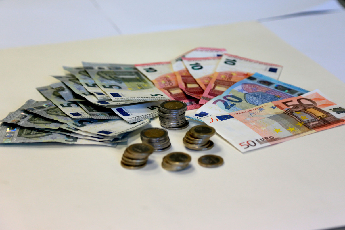 raha, euro, maksuamet, pension