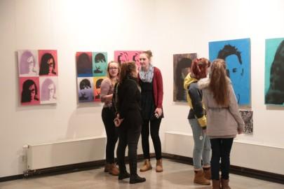 LÜGi Warholi näitus. Tarmula13