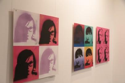 LÜGi Warholi näitus. Tarmula35