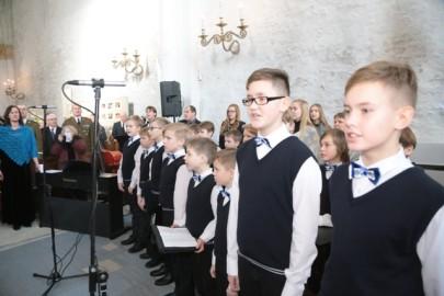 Vabariigi aastapäev toomkirikus. Tarmula09