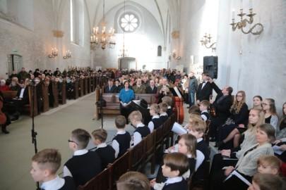 Vabariigi aastapäev toomkirikus. Tarmula11