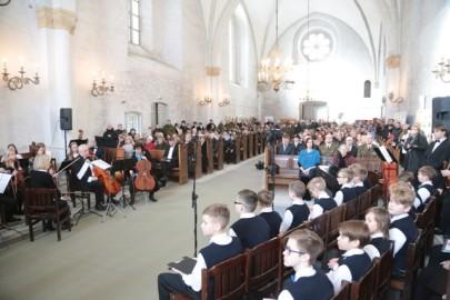 Vabariigi aastapäev toomkirikus. Tarmula12