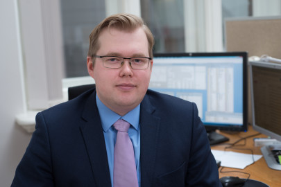 Kaspar Oja, Eesti Panga ökonimist (eesti pank)