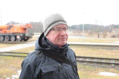 Raudteemuuseumi veeremi toomine Haapsallu. Tarmula18