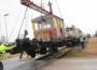 Raudteemuuseumi veeremi toomine Haapsallu. Tarmula36