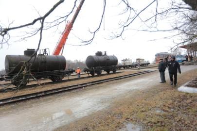 Raudteemuuseumi veeremi toomine Haapsallu. Tarmula48