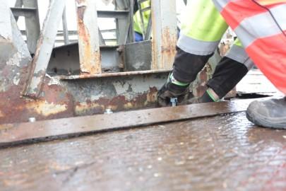 Raudteemuuseumi veeremi toomine Haapsallu. Tarmula59