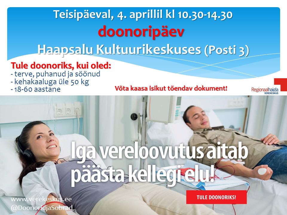 doonor verekeskus