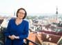 suursaadik Kirsti Narinen, foto Soome suursaatkonna rõdul.