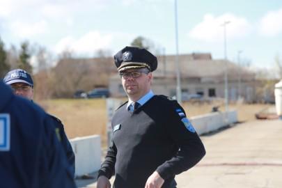 Politseikaatri saabumine. Tarmula0108