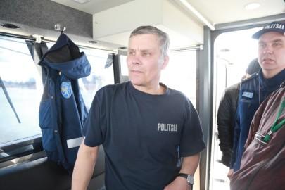 Politseikaatri saabumine. Tarmula0126
