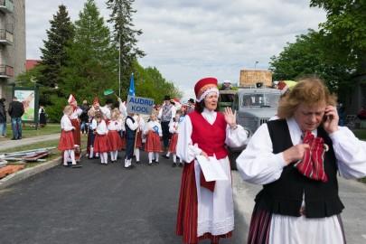 Läänemaa tantsupeo rongkäik 201705