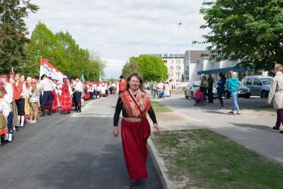 Läänemaa tantsupeo rongkäik 201710