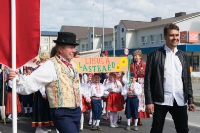 Läänemaa tantsupeo rongkäik 201715