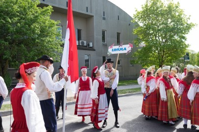 Läänemaa tantsupeo rongkäik 201718