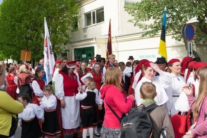 Läänemaa tantsupeo rongkäik 201721