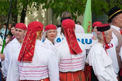 Läänemaa tantsupeo rongkäik 201724