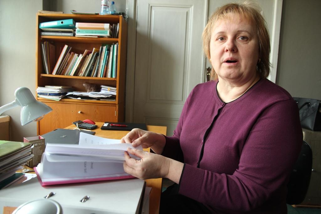 Vatla kooli direktor Helju Viikmann (urmas lauri)