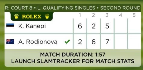 Kanepi Wimbledon