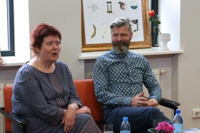 Tiiu Heldema, Aivar Viidik Foto: Arvo Tarmula