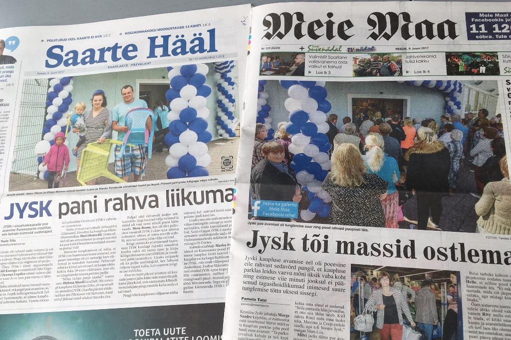 JYSK Saaremaal