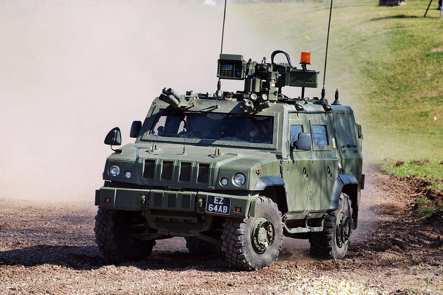 Panther (british army landrover)