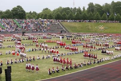Tantsupidu esimene etendus 30. juuni Foto Peeter Langovits21
