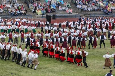 Tantsupidu esimene etendus 30. juuni Foto Peeter Langovits24