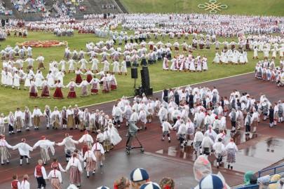 Tantsupidu esimene etendus 30. juuni Foto Peeter Langovits48